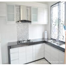 Projetos simples Gabinete de cozinha de madeira Gabinete de cozinha em PVC