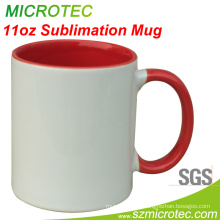 Sublimation Mugs with Color Inside for Heat Transfer Print (MT-B002H)