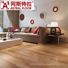 A cor popular na superfície lustrosa 12mm laminou o revestimento de madeira