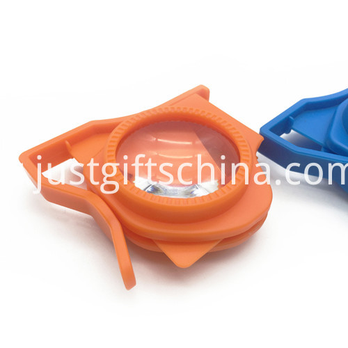 Promotional Foldable 3d Vr Glasses Orange Color