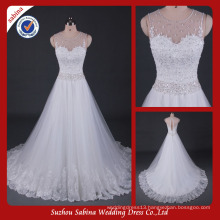 Sh0605 Love forever wedding dress sparkle beaded wedding dresses real photos