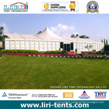 Luxury Outdoor White Roof High Peak Tent with ABS Walls for Weddings