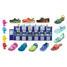 Automatic One Colors EVA Shoes Crocs Slippers Injection Molding Machine