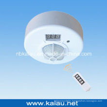 Ceiling Mount Remote Control PIR Motion Detector with Remote Control (KA-WR01)