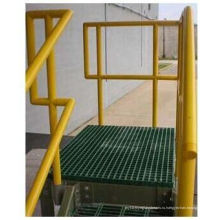 Стеклопластик/стеклопластик арматура поручней с легкий вес, высокая прочность
