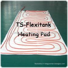 Flexibag chauffage pad pour le transport de l'huile de palme