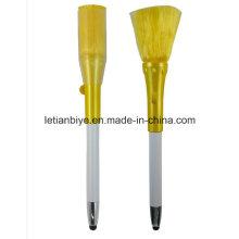 Pluma plástica nueva al por mayor de la pintura del cepillo del ordenador (LT-D011)