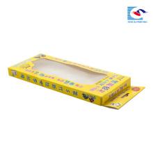 boîte de stylo exquis personnalisé pour les enfants avec fenêtre