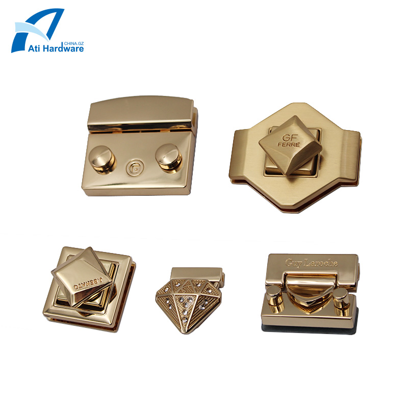 Handbag Lock Metal Hardware