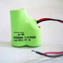 3.6v Aa 600mah Rechargeable Nimh  Battery Pack For Rc Toys