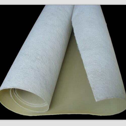 Geocomposite white Geotextile with Geomembrane