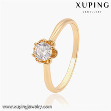 13831 Xuping gold plated latest design ladies rings