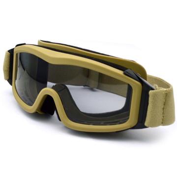 Bonne sécurité et lunettes de protection