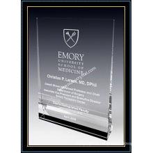 """Plaque Crystal Award / Plaque verticale 5 """"H (NU-CW727)"""