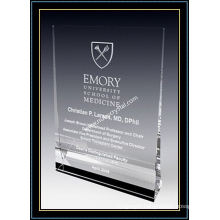 "Crystal Award Plaque / Vertical Plaque 5"" H (NU-CW727)"