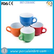 Bonito largo boca taça tazza xícara de chá de cerâmica