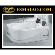 Популярные двухместные ванны акриловые ванной джакузи (BA-8721)