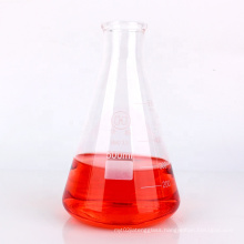 Triangle glass lab flask 500ml conical glass candle flask