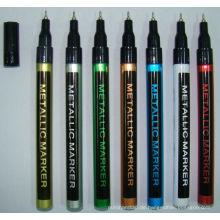 Dünne Barrel Paint Marker mit schönen Farbe Metall Farbe Design