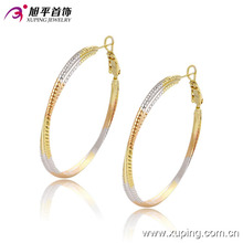 Fashion Simple Multicolor Jewelry Earring Hoop -91070
