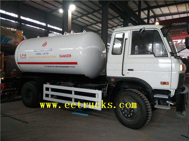 5000 Liters LPG Truck Tanks with Pump