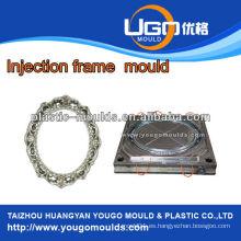 Profesionales de plástico marcos decorativos molduras de pared moldes de inyección moldeado de molduras