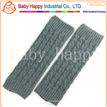Grey hot selling baby leg warmers wholesale