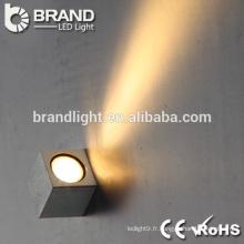 Lumière LED intégrée murale de haute qualité, lumière murale vers le haut, IP44