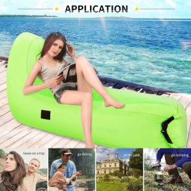 Outdoor Inflatable Lounger Couch Air Sofa