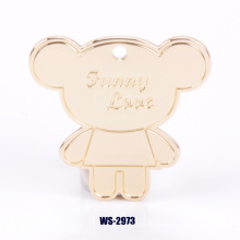 Customized Brand Decoration Badge Pendant for Handbags