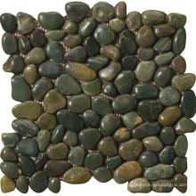 Ландшафтный дизайн речной камень