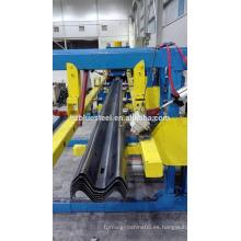 Carretera de carretera de autopista 3 ~ 5 mm Heavy Gauge Guardrail rodillo formando la máquina