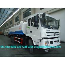 Camión vendedor caliente del transporte del tanque de agua de 20 toneladas, camión de entrega del agua 6x4 con sistema del aerosol de agua