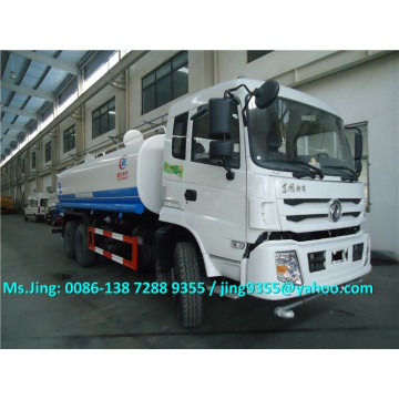 Hot Selling 20 ton water tanker transportation truck, 6x4 water delivery truck with water spray system