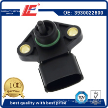 Auto Map Snesor Vehicle Manifold Sensor indicateur de transducteur de pression absolue 3930022600, 7472291, 5s2470, As196, Ms20, 84.291 pour Hyundai, KIA, Hoffer, Airtex