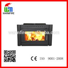 Insérez la fourniture d'usine de foyer au bois de conception directement BI2500