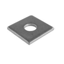 Rondelle carrée Rondelles plates carrées en métal en acier au carbone