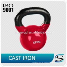 Kettlebell de borracha de ferro fundido 50kgs