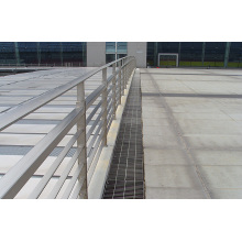 Mão de aço corrimão para escadas