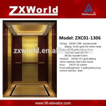 ZXC01-1306 Luxurious Design VVVF Passenger lift Elevator