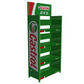 Lubricating Oil Display Stand Durable Metal Display Racks