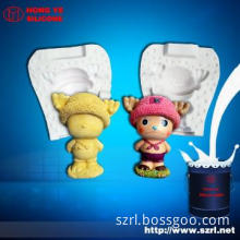 RTV silicone rubber for small crafts silicone mold in plaster,factory
