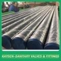 Tubo ISO2037 de aço inoxidável sanitário polido