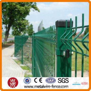 clôture métallique extérieure