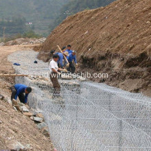 Galvanized Hexagonal Mesh Gabion Box
