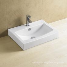 Lavabo rectangular de baño 8008