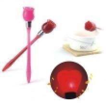 golpe pluma - rosa
