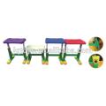 Kinder entwerfen farbigen PP-Material Hocker für Kinder
