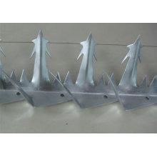 Гальванизированный стальной штырь / шип для птиц Анти-Climb Колющие гвозди / защитные шипы