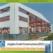 Professionelle und kostengünstige Stahlkonstruktion Building Workshop Jdcc1019